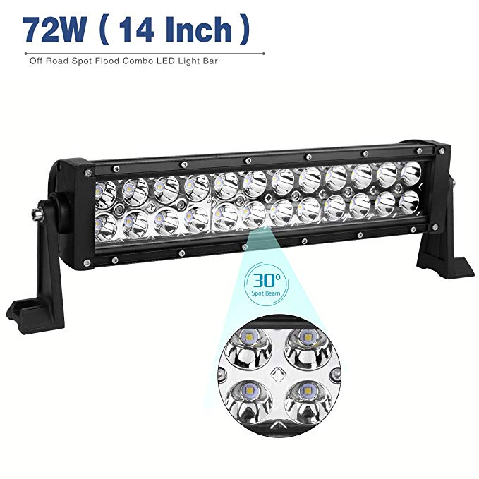 Quantum led light bar 8000 lumens narva 72766 72 watt