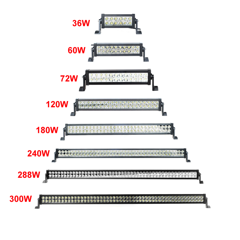 Led light bar 80 60w 600w