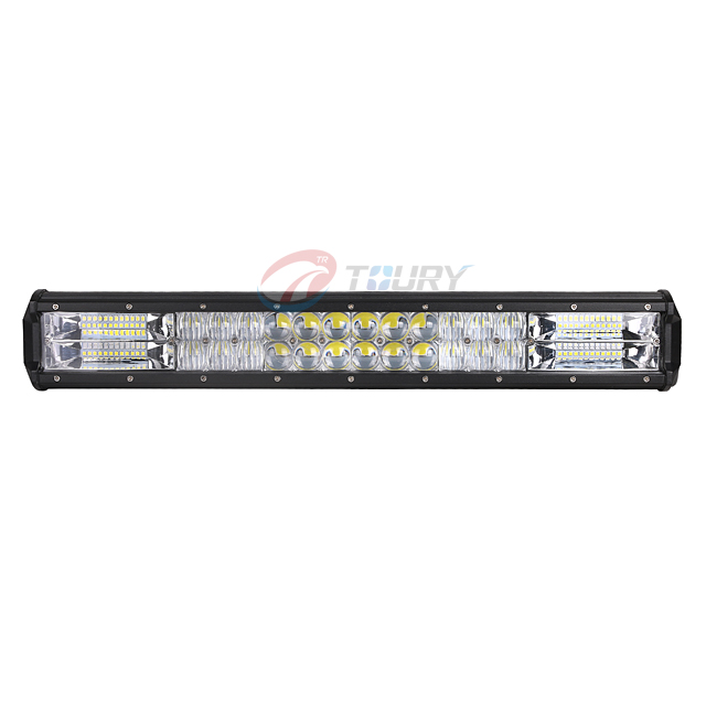 led light bar amber and white at night walmart