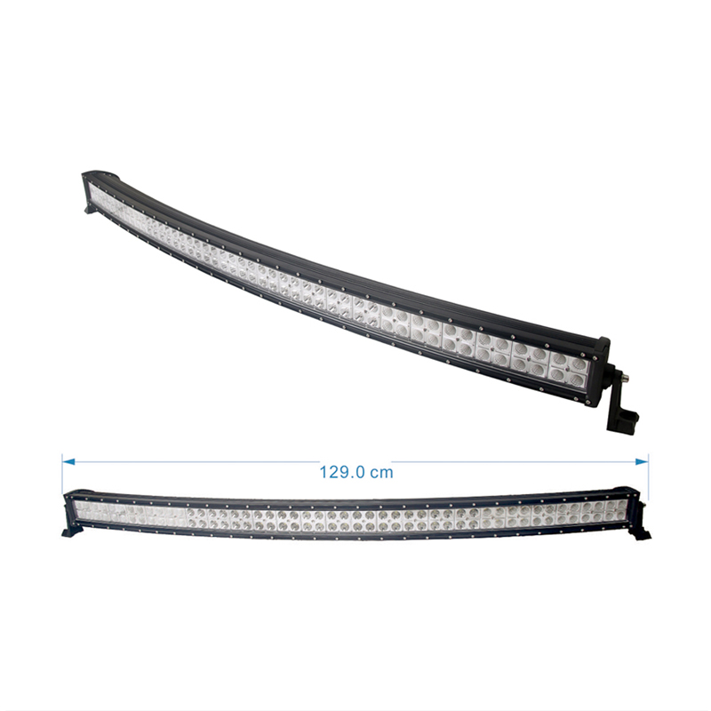 288W curved led light bar police xterra x trail x ray