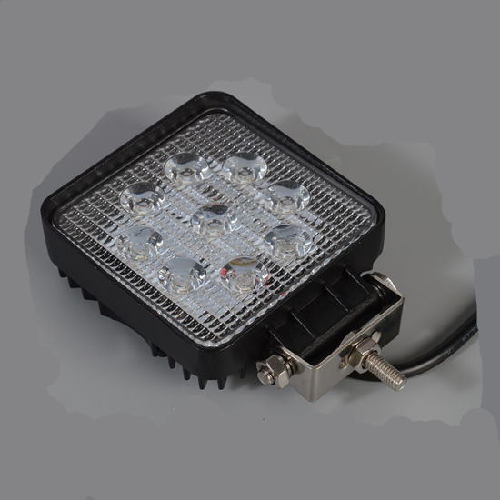 square E-mark 27w Led Work Lamp for atvs jeep
