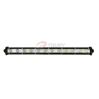 Single Row 12V24V Auto 36V LED light bar Waterproof Offraod Driving Car 36V LED Light Bar