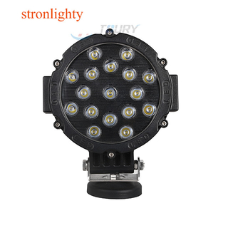 Super Bright 51W 4x4 Offroad Driving Car LED Work Light 12 volt 24 volt Spot Light Food Light